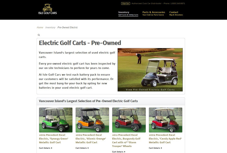Isle Golf Cars