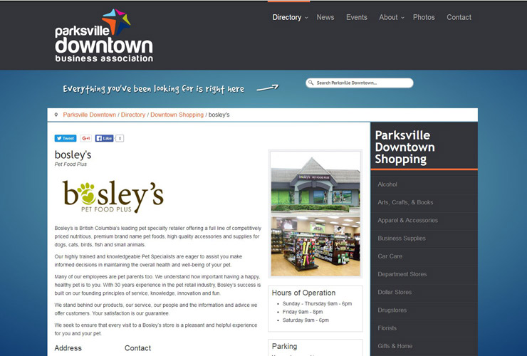 Parksville Downtown Business Association